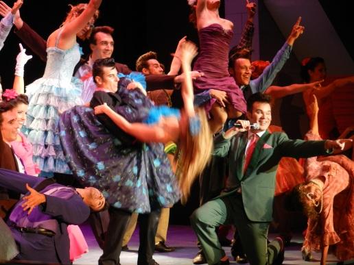 13 Grease concurso de baile
