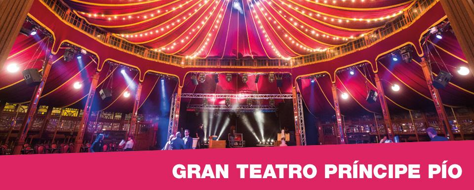 Luis alvarez primera fila Teatro principe gran via