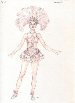 Showgirl's costume design