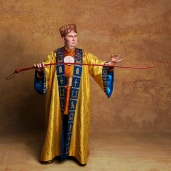 Adam Pearce as Hotep. Photo: Darren Bell